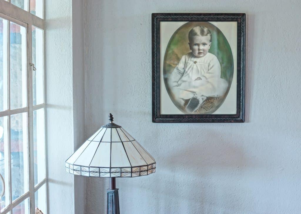 Granny's baby portrait