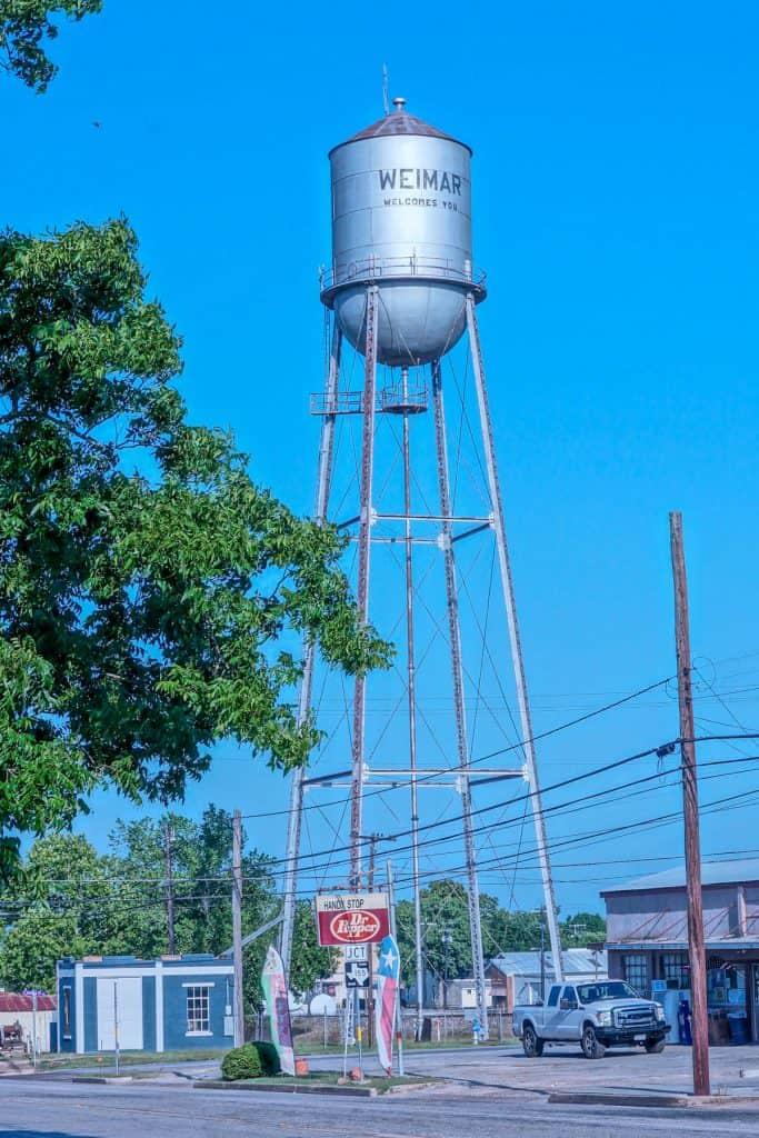 Weimar water tower