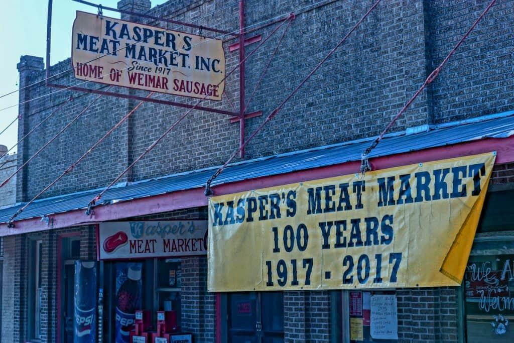 Kasper's meat market