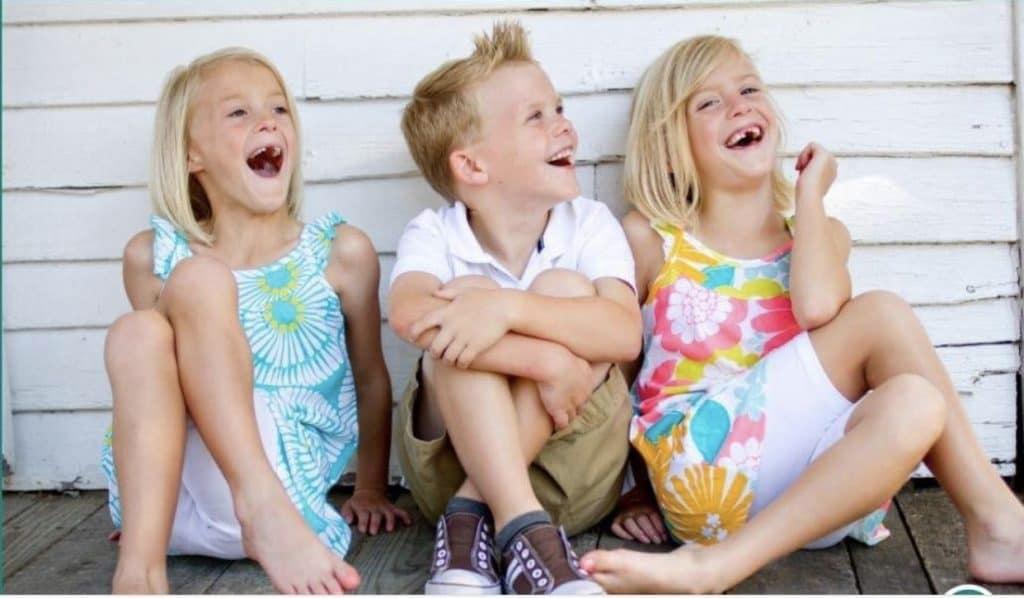 Davenport Triplets - age 6
