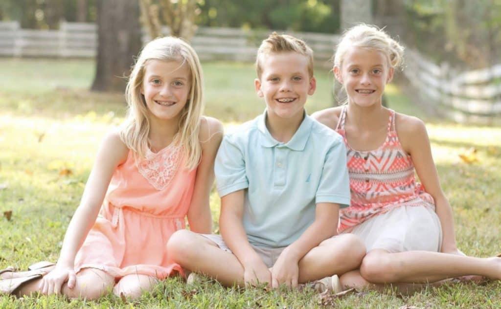Davenport Triplets - age 9