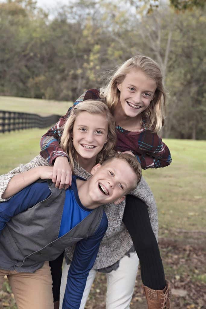 Davenport Triplets - age 11