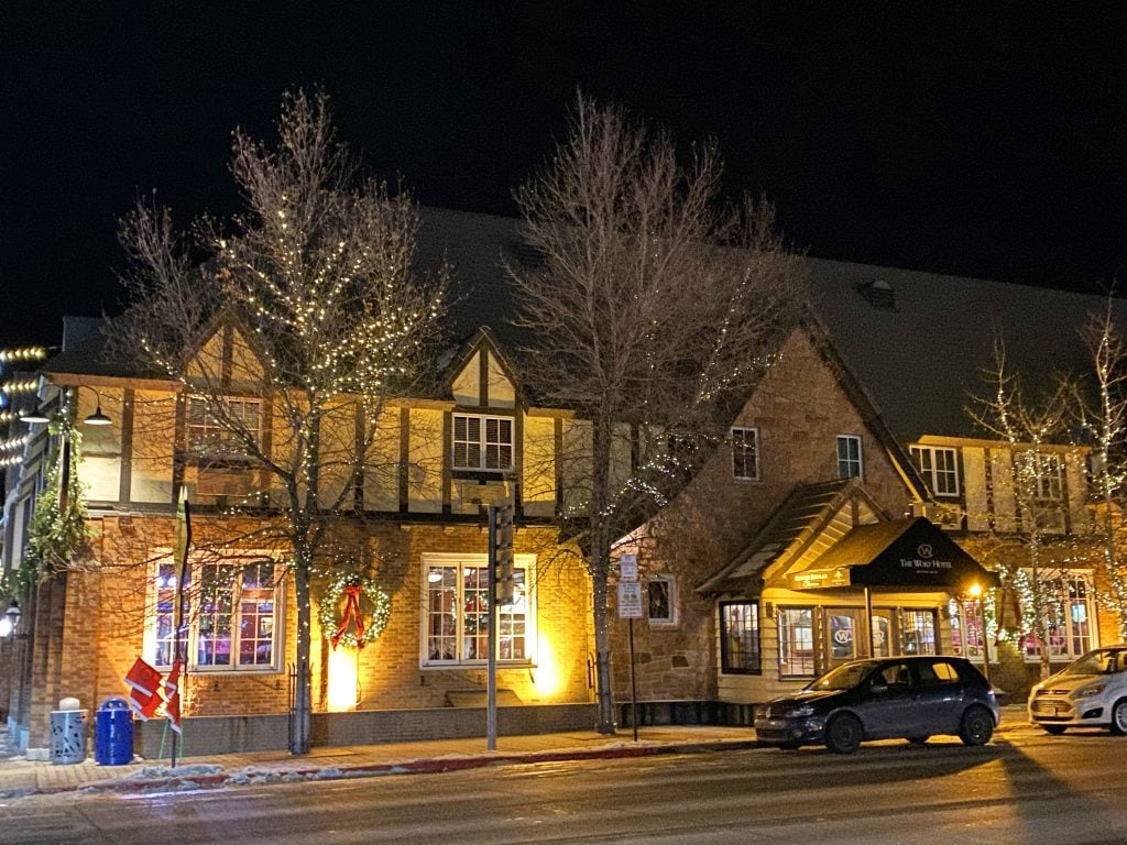 Wort Hotel in Jackson Hole, Wyoming