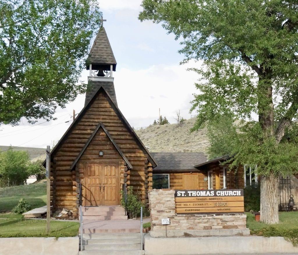 St Thomas Church at Dubois, Wyoming