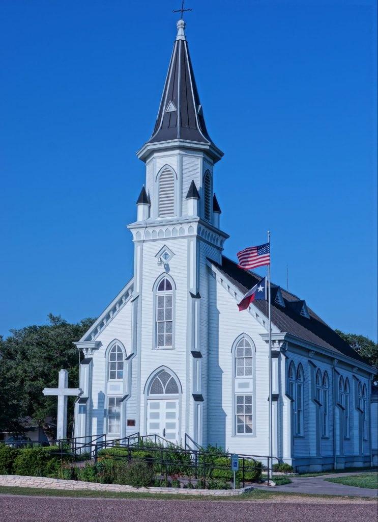 St John the Baptist Catholic Church at Ammansville, TX