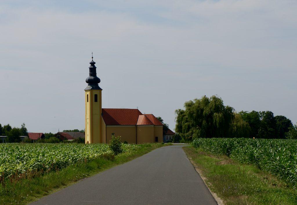 Church in Prelog, Croatia