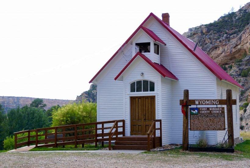 Chapel at Tensleep, Wyoming