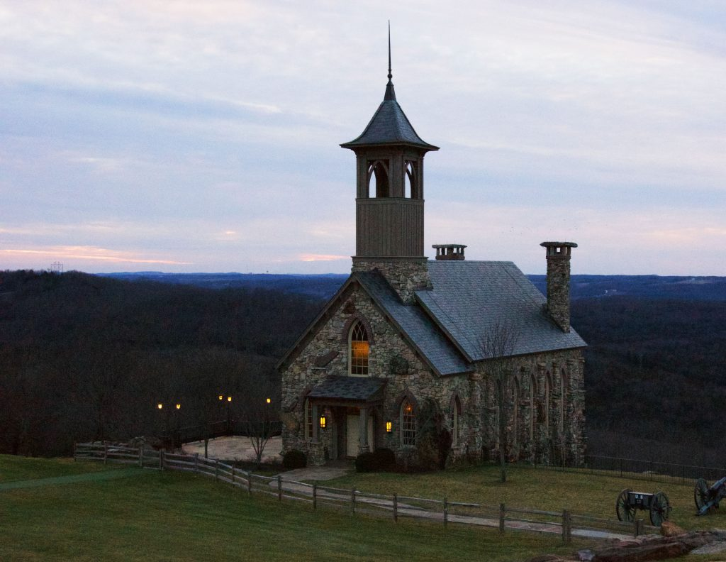 Chapel of the Ozarks at Branson, MO