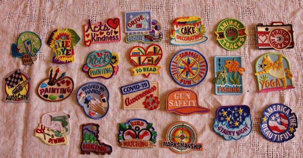 Camp Joplin 2020 badges
